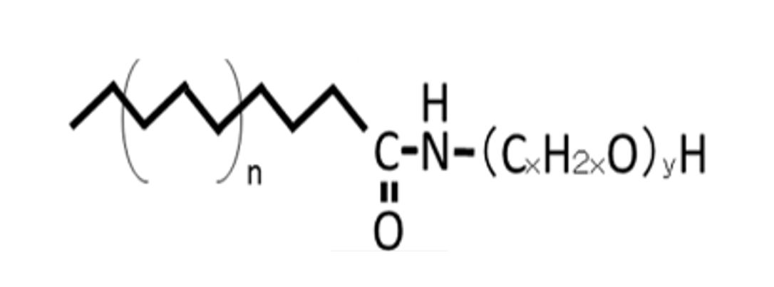 Figure 2: Polyoxyethylene Fatty Acid Amide Derivative