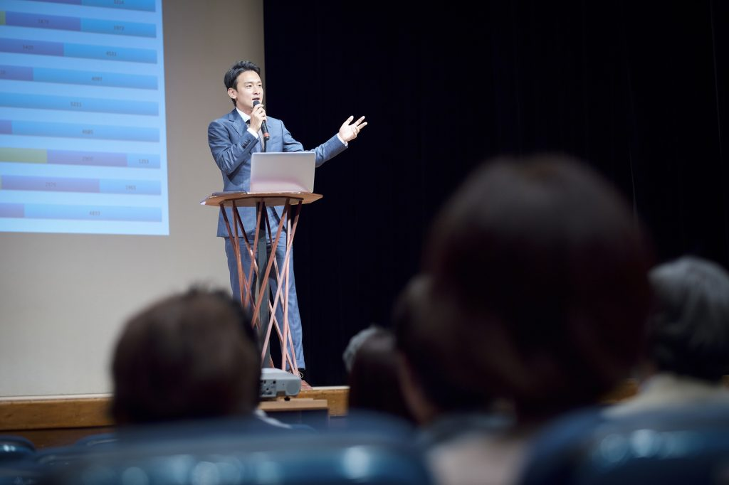 R&D本部長として最後の講演