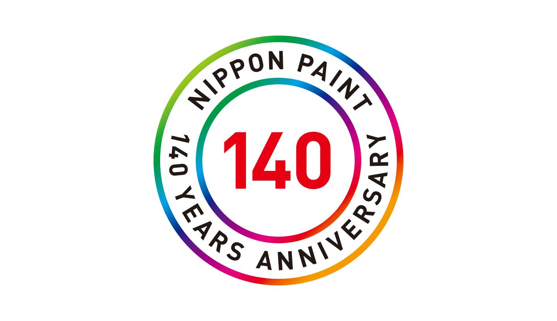 140th anniversary logo