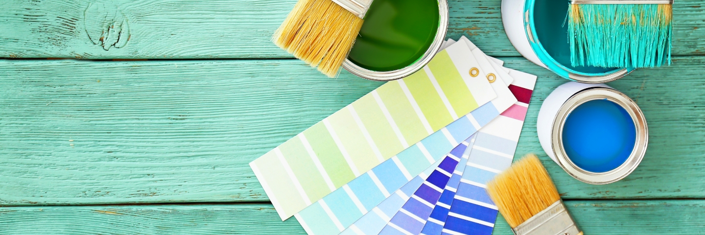 Paints for home use (DIY)