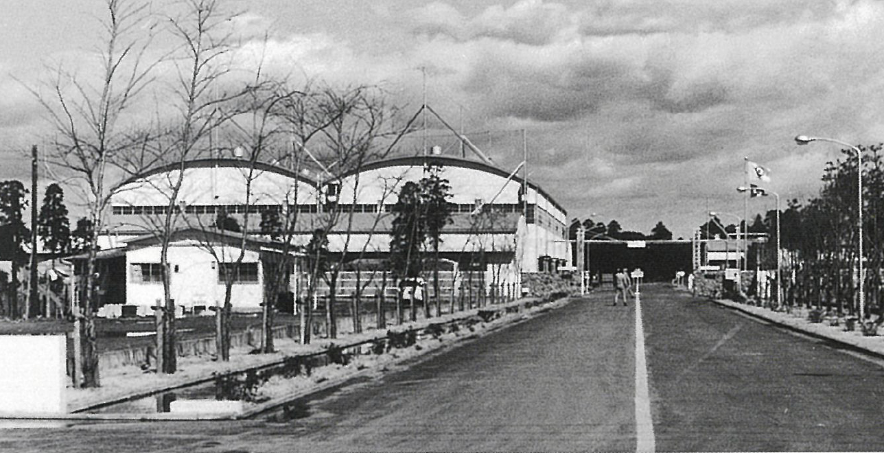 昭和37年(1962年)竣工の千葉工場