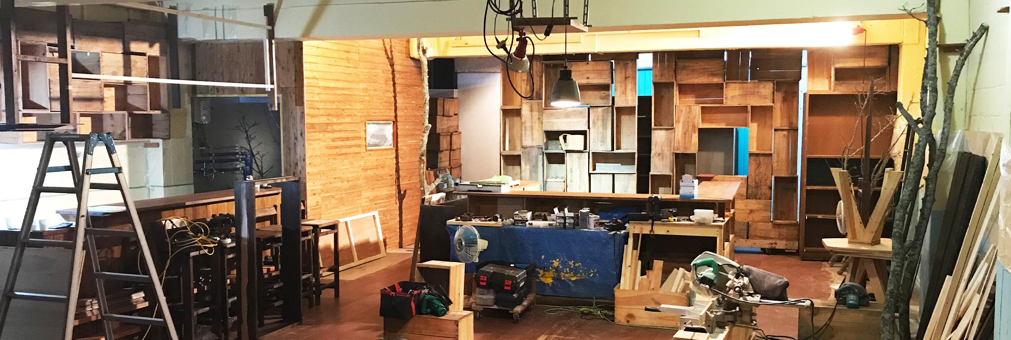 舞台セット作成前の状態