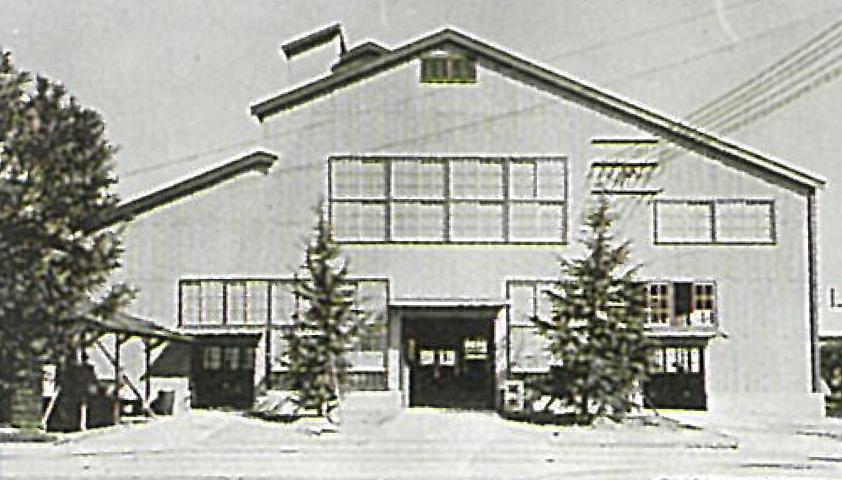 昭和24年(1949年)の大阪特殊ペイント工場