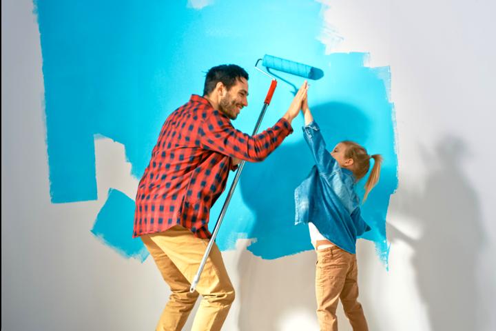 家庭用塗料の強み1