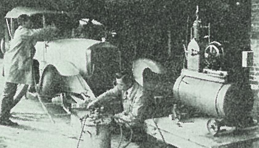 「二ホンラッカー」による自動車塗装実験